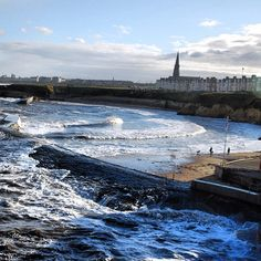 I sometimes went to the beach here as a child. Inverness Scotland, North Shields, Northumberland England, North East England, True North, Live In The Now, Newcastle, East Coast, Great Britain