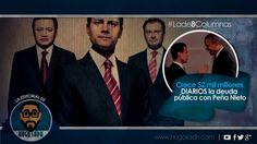 Crece 2 mil millones DIARIOS la deuda pública con Peña Nieto