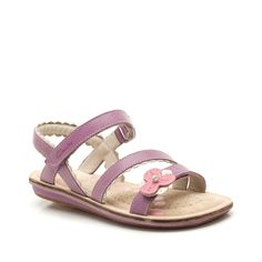 Ayla Fizz in Mulberry Leather - Kids Girls from Clarks