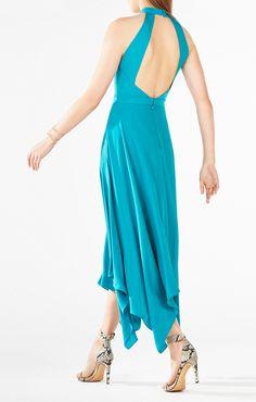 Annmarie Cutout Asymmetrical Dress