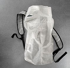 A waterproof pack that weighs no more than a garbage bag and can fit in your back pocket.