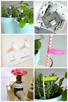 A ton of great ideas for how to use your label maker! #Brother #LabelIt