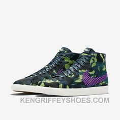 half off fa570 e5024 NIKE BLAZER MID JACQUARD 2017 Spring New 807382-200 Women Black Purple Top  Deals 4hjcKe, Price   88.19