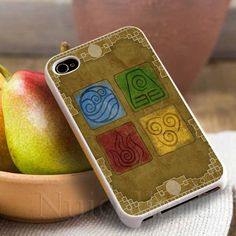 Avatar 4 Elements 4  For iphone 4/4s iphone by Nuicolland on Etsy, $6.80