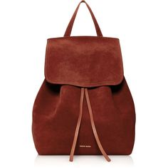 Mansur Gavriel Drawstring Backpack (15.165 ARS) ❤ liked on Polyvore featuring bags, backpacks, purses, sac, burgundy, red backpack, drawstring backpack bag, backpack bags, red suede bag and drawstring bag