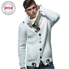 New Autumn Winter Fashion Brand Casual Cardigan Sweater Loose Fit Acrylic Warm Knitting Men Clothes