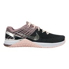 Nike Women's Metcon DSX Flyknit Training Shoes - Black/Pink - BLACK
