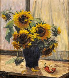 Max Steudel - Sunflowers