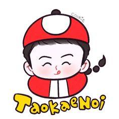 Danson Tang, Exo Fan Art, Sehun, All Art, Chibi, Hello Kitty, Kpop, Cute, Fanart