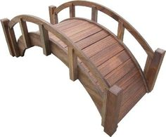 SamsGazebos-Miniature-Japanese-Wood-Garden-Bridge-Treated-Assembled-New