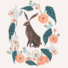 """200 Likes, 2 Comments - Surface Design & Illustration (@rae.ritchie) on Instagram: """"It felt great to paint by hand today after a week of digital work! #somebunnynew #illustration…"""""""