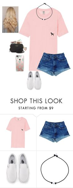"""Almost close to 100 followers!!"" by lexihaven ❤ liked on Polyvore featuring Victoria's Secret, Vans and Casetify"
