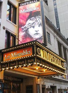 Photo of See Les Miserables at the Imperial Theatre on Broadway! Musical Theatre Broadway, Music Theater, Broadway Shows, Theater Rooms, Les Mis Broadway, Broadway Nyc, Musicals Broadway, Ramin Karimloo, Theatre Nerds