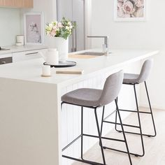 """Kmart Australia on Instagram: """"Our $35 Upholstered Bar Stool will slide into any kitchen style just like @hausofcruze – thanks for tagging #kmartaus ❤"""""""