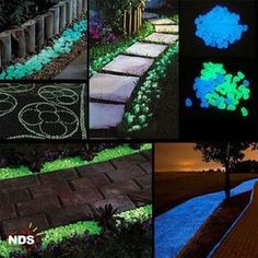 Description: These eco-friendly luminous pebbles require no electricity and look stunning in the day and night. Decorate your garden path, bird fountain or flow