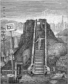 Sandow Birk's Dante's Purgatorio
