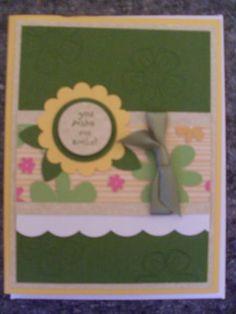 Handmade card by me