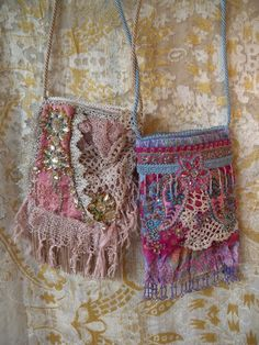 Very pretty little boho inspired bags.
