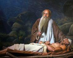 Abraão e Isaque.