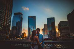 Epic-Chicago-Sunset-Engagement