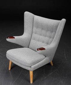 Ware: 3479007Hans J. Wegner. Sessel 'Papa Bear Chair', Modell AP-19