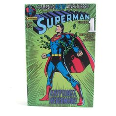 Caixa Livro Superman