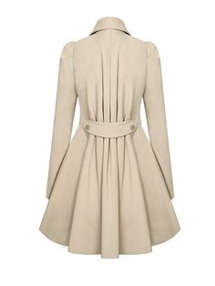 Versatile Notched Lapel Double Breasted Trench Coats & Jackets / Coats - at Jollychic