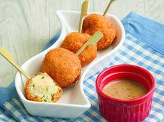Yummy potato balls make for a great snack during movie marathons!