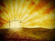 """Happy Easter! Christ the Lord is Risen Today!!   Luke 23:39-43 One of the criminals who hung there hurled insults at him: """"Aren't you the Christ? Save yourself and us!"""" But the other criminal rebuked him. """"Don't you fear God, he said, since you are under the same sentence? We are punished justly, for we are getting what our deeds deserve. But this man has done nothing wrong."""" Then he said, """"Jesus, remember me when you come into Your kingdom."""" And Jesus answered him,"""