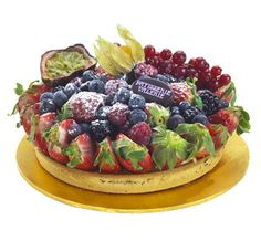 Patisserie Valerie - Special Occasion Cakes - Fruits of the Forest Tart