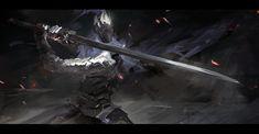 Artstation Artorias Acorecell Cell Dark Souls Dark Souls