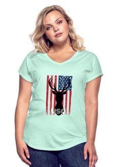 AMERICAN FLAG APPAREL - AMERICAN FLAG APPAREL American Flag, V Neck, T Shirt, Tops, Women, Fashion, Elegant, Supreme T Shirt, Moda