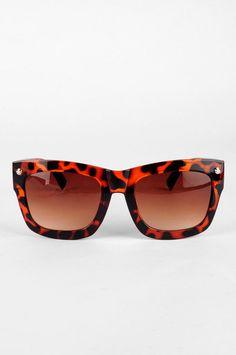 6252119de954 In the Dark Sunglasses in Tortoise