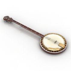 Banjo 3D Model