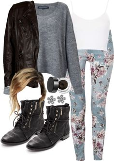 Teen Wolf Malia Tate Inspired Winter Party Outfit
