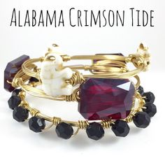 University of Alabama Crimson Tide Game Day by CourtneyAndCourtnie
