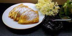 Co podpowie głowa, ręce zrobią, a język posmakuje: Budyniowe naleśniki z waniliową nutą i kwiatami cz... French Toast, Breakfast, Food, Morning Coffee, Meals, Morning Breakfast