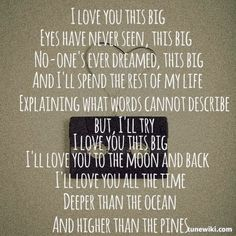 """""""I Love You This Big"""" by Scotty McCreery"""