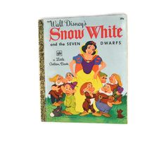 Vintage 1972 Walt Disney's Snow White And The Seven by FarahsAttic, $4.00