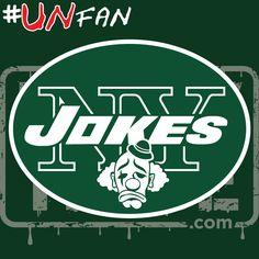 Funny Jets Parody Logo #UNfan #Jets #Patriots #Bills #Dolphins #NFL #ParodyTease #memes