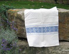simple overshot towel