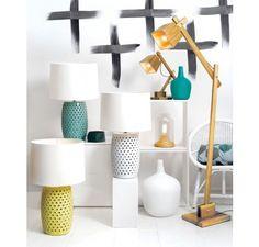 Tatum Table Lamp in Yellow | Lamps | Lighting