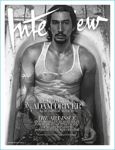 Adam Driver covers the December 2016/January 2017 issue of Interview magazine.