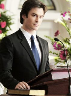 "Damon Salvatore → 6x15 ""Let Her Go"""