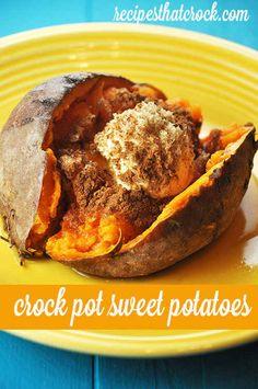 Crock Pot Sweet Potatoes