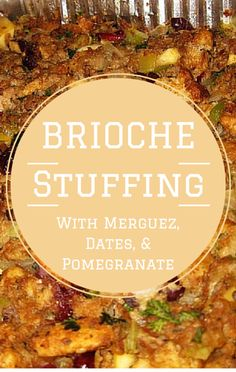 Dennis Quaid joined Mario Batali on The Chew, and helped him prepare Brioche Stuffing with Merguez, Dates, and Pomegranate.