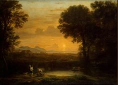 Landscape with Tobias and the Angel  Artist: Gellee Claude (Le Lorrain)