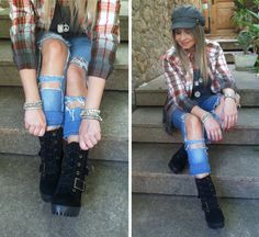 Look Casual – Jeans Super Destroyed