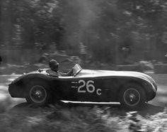 Sterling Edwards - C-Type Jaguar, Golden Gate Park, 1953.