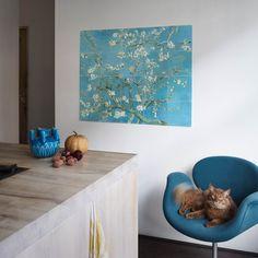 Almond Blossom Wall Art - x - Better Homes & Garden Shop Vincent Van Gogh, Fleurs Van Gogh, Modern Interior, Interior And Exterior, Van Gogh Famous Paintings, Flower Power, Van Gogh Almond Blossom, Ecommerce, Design3000